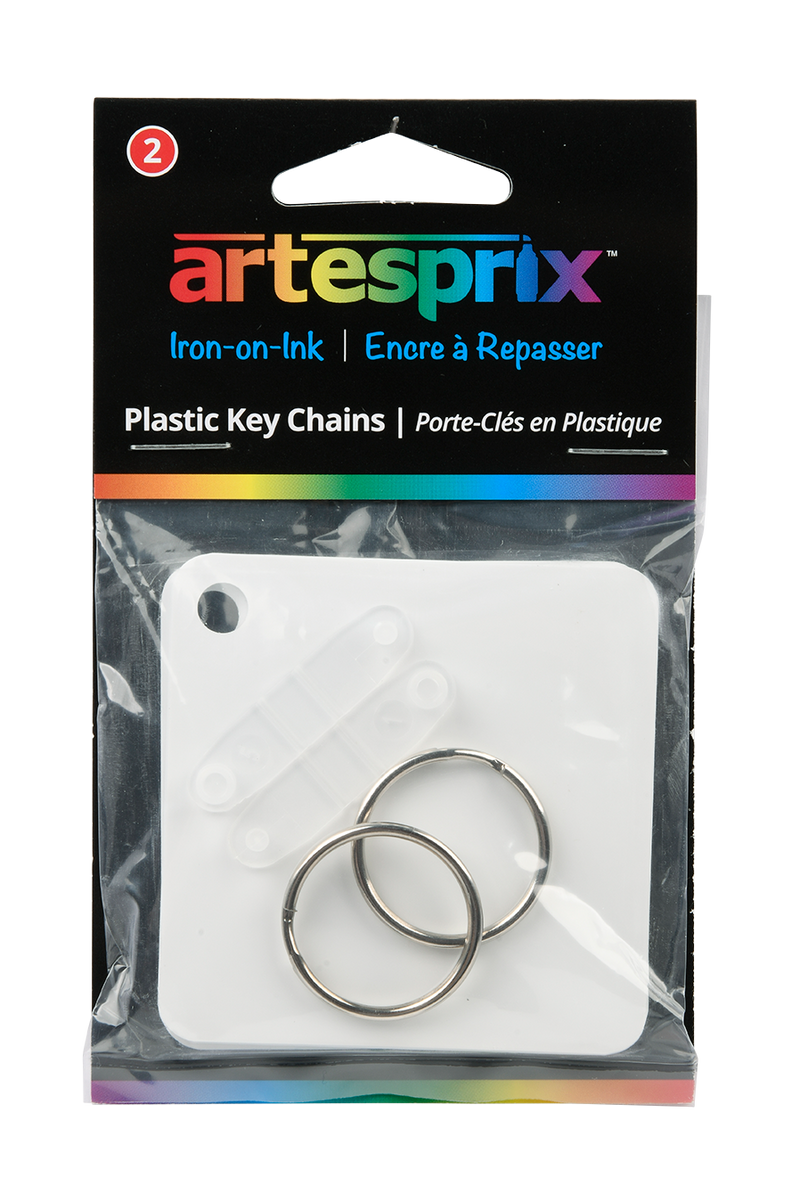 Key Chains (2ct) - Maple, Metal or Plastic - Artesprix