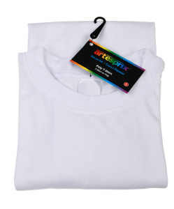Poly T-Shirt - Adult - Crew Neck S, M, L, XL
