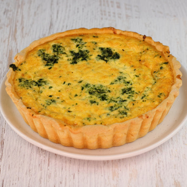 Family Spinach Quiche
