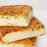 Garlic and Herb square focaccia