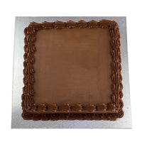 Chocolate Cake with buttercream 25cm square
