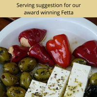 Serving suggestion - fetta antipasto
