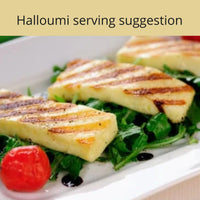 Serving suggestion for our award winning Haloumi