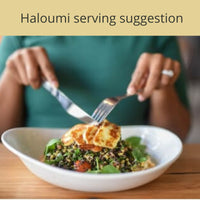 Haloumi serving suggestion
