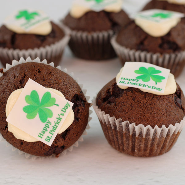 St Patrick's Day Mini Muffins