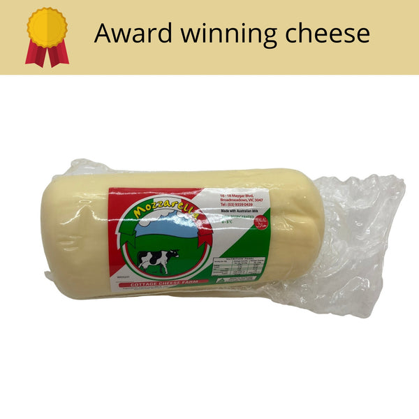 Mozzarella award winning