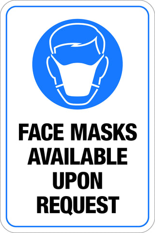 Face Masks Available Upon Request