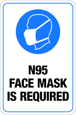 N95 Face Mask Required