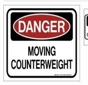Counter Weight Decal