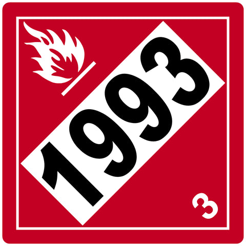Decal - Flammable 1993 - 3