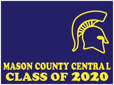 MCC Senior 2020 Yard Sign - Custom 18″ Tall x 24″ Wide