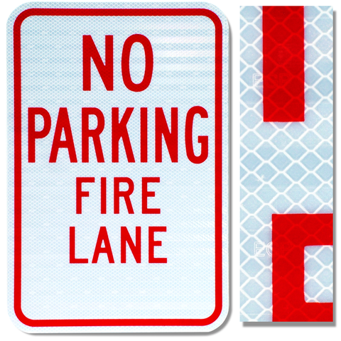 12inx18in NO PARKING FIRE LANE