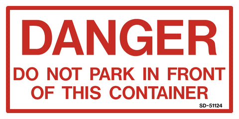 Danger Do Not Park...