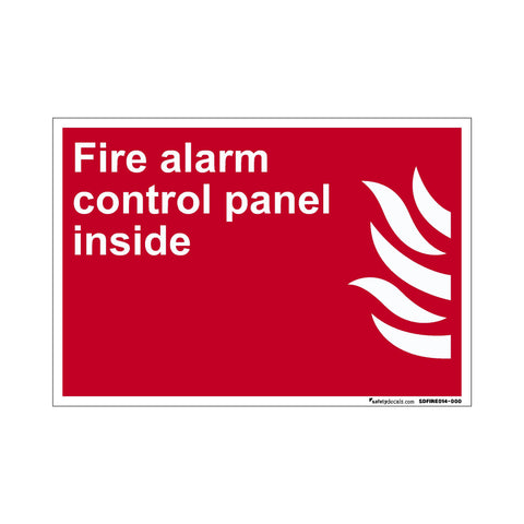 Fire Safety Fire Alarm Control Panel Inside