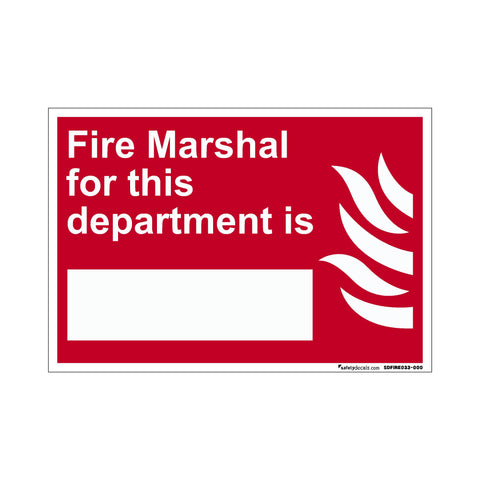 Fire Safety Fire Marshall