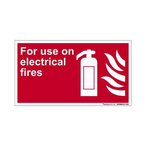 Fire Safety For Use On Electrical Fires