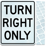24inx30in RIGHT TURN ONLY