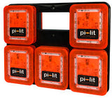 Pi-Lit 10pk Battery Powered Sequential Flares