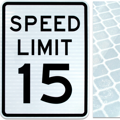 24inx30in SPEED LIMIT 15