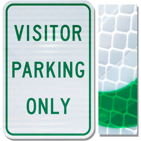 12inx18in VISITOR PARKING