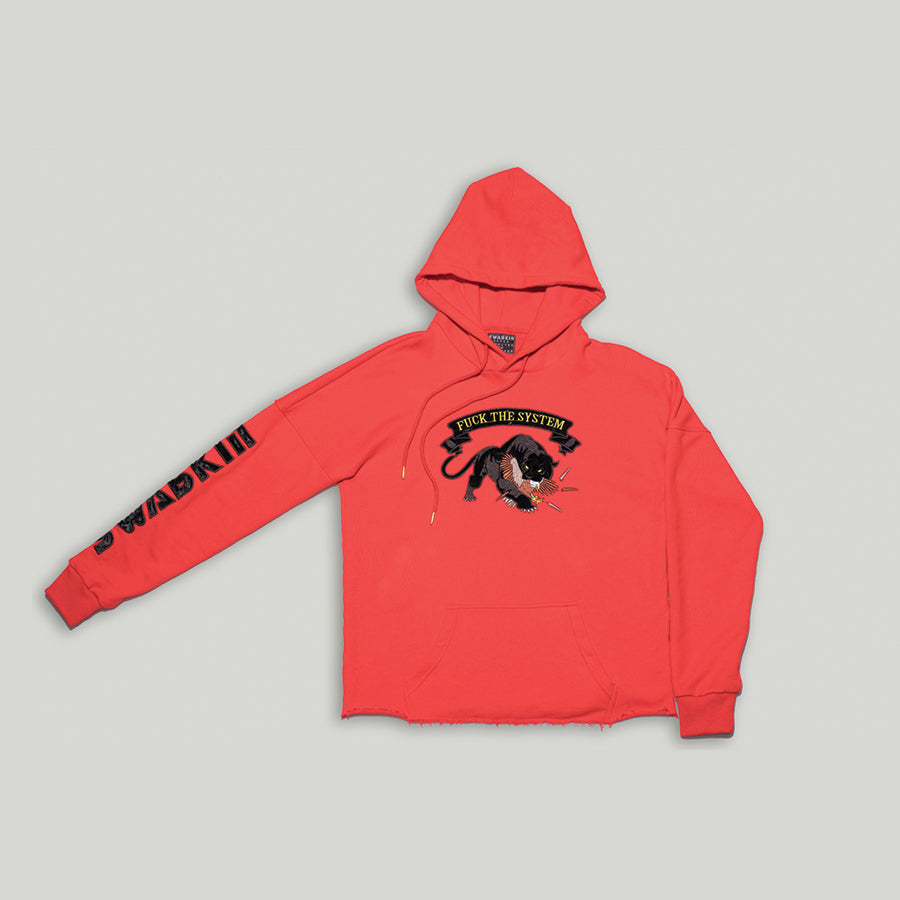 Red Panther Hoodie