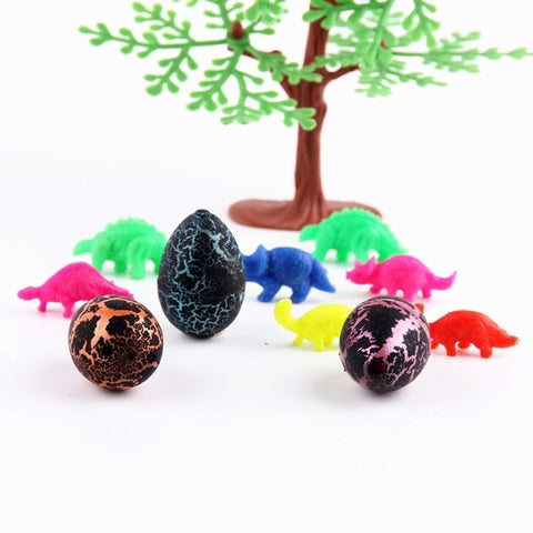 Image of Christmas gifts Hatching Colorful Dinosaur