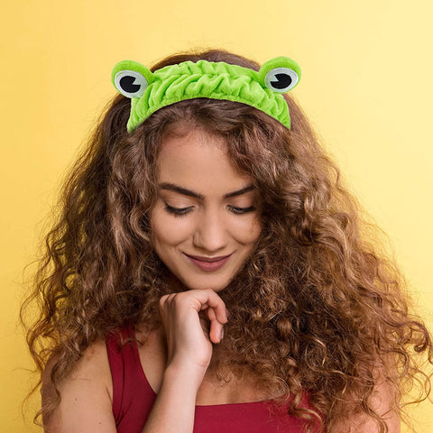 Image of Funny Frog Makeup Headband