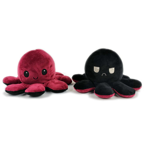 Reversible Flip octopus Plush Stuffed Toy