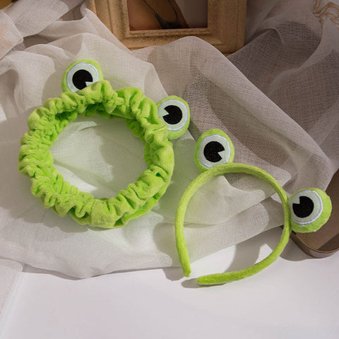 Funny Frog Makeup Headband