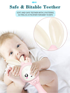 Baby Music Teether Rattle Toy for Child