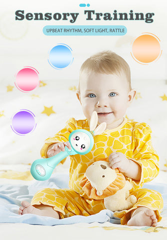 Image of Baby Music Teether Rattle Toy for Child