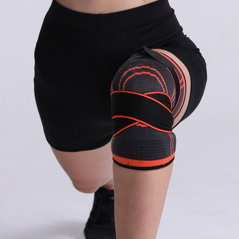 Image of Men Pressurized Elastic Knee Pads