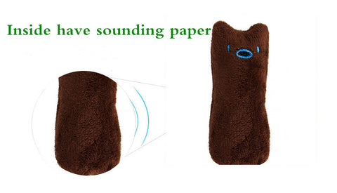 Image of Funny Interactive Plush Cat Toy