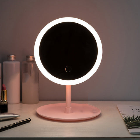 Led Light Makeup Mirror Storage