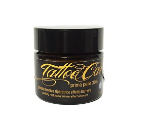 LATTE&LUNA TATOO CARE POMATA LENITIVA RIPARATRICE, EFFETTO BARRIERA .25 ML