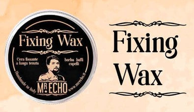 MR.ECHO  Fixing Wax Cera fissante barba baffi e capelli 30 ml