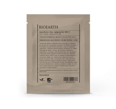BIOEARTH Maschera Viso Epigenetic Lift - Busta Monouso 15 ml