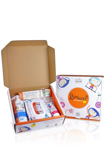 OFFICINA NATURAE BIRICCO Gift Box Baby Berry 6m