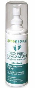 GREENATURAL DEODORANTE PIEDI E CALZATURE SPRAY NO GAS 100 ml