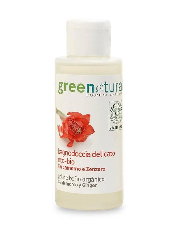 Bagnodoccia cardamomo e zenzero 100 ML GREENATURAL TRAVEL SIZE