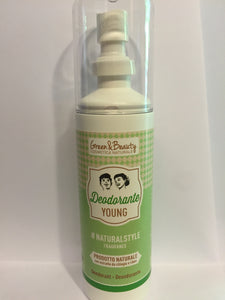 Deodorante YOUNG 100 ml GREEN&BEAUTY
