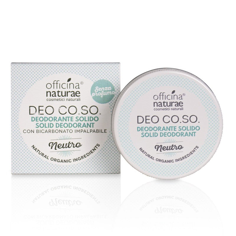 OFFICINA NATURAE Deodorante Solido CO.SO. Neutro 50 ml