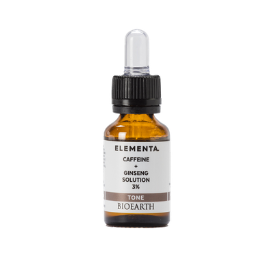 Bioearth CAFFEINE + GINSENG SOLUTION 3 % 15 ml