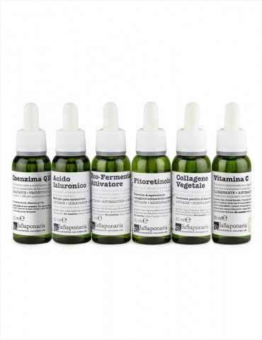 LA SAPONARIA Kit Attivi Puri 30 ml