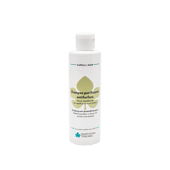 BIOFFICINA TOSCANA Shampoo purificante antiforfora 200 ml