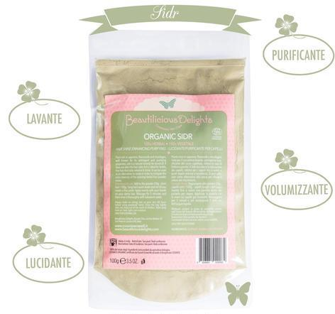 BEAUTILICIOUD DELIGHTS Sidr Cosmos Organic 100 g
