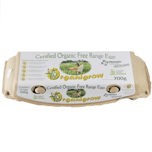 Organigrow Eggs 700g - Gold Coast Organics Home Delivery