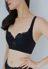 Brassiere W Hook - Black - Wincool