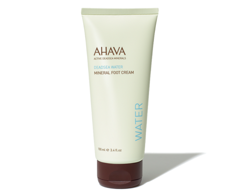 Ahava Mineral Foot Cream 3.4oz - Woo Skincare and Cosmetics