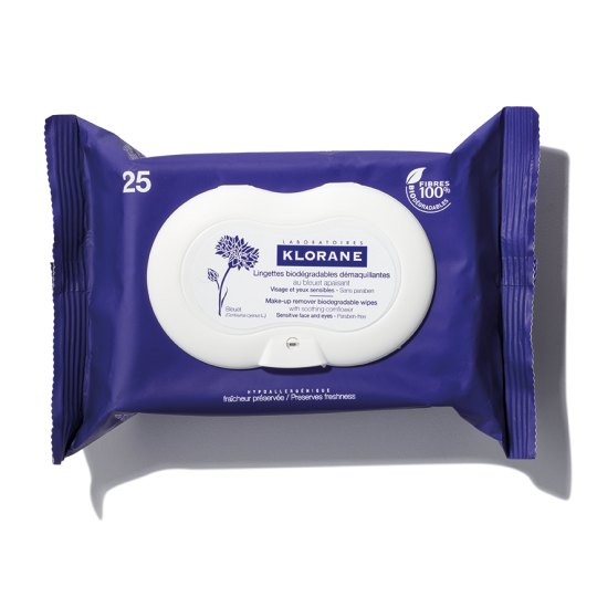 klorane makeup removing wipes